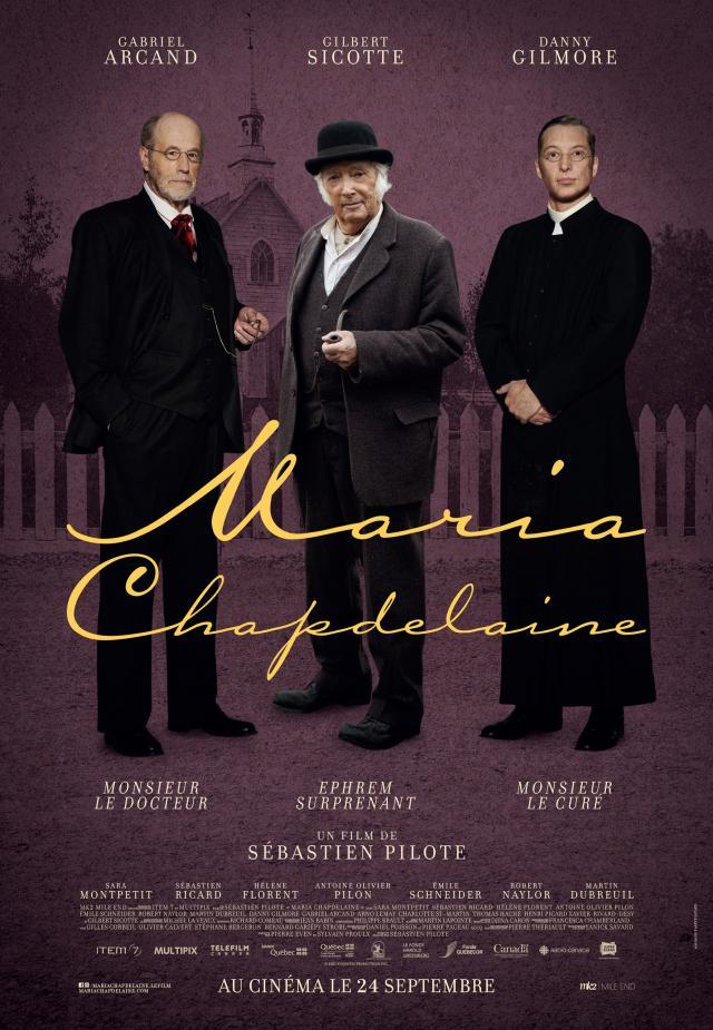 Maria Chapdelaine - Affiche - Les hommes de la ville